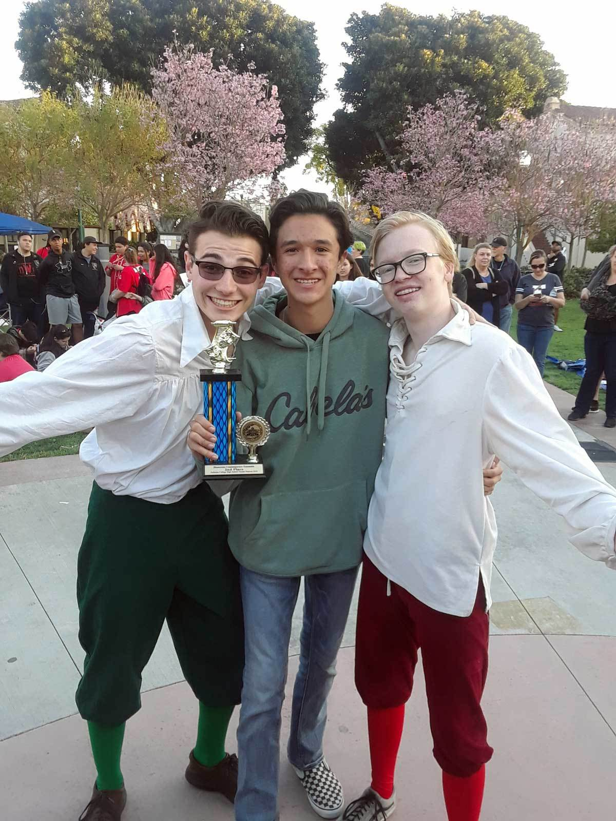 JSerra Theatre Company Wins Awards at Fullerton College Theatre Festival