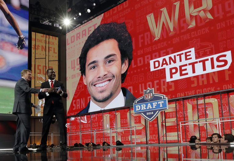 Alumnus Dante Pettis Selected by 49ers in NFL Draft
