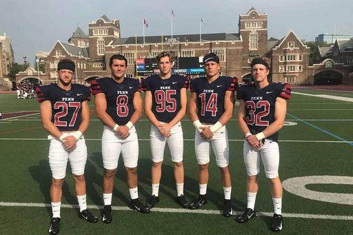 Five Lion Teammates Ride Cross-Country Pipeline to Penn