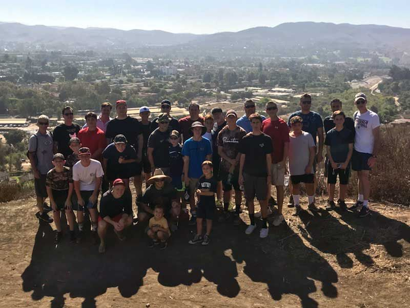 2nd Annual Dad Son Hike Provides Opportunities for Recreation and Spiritual Growth