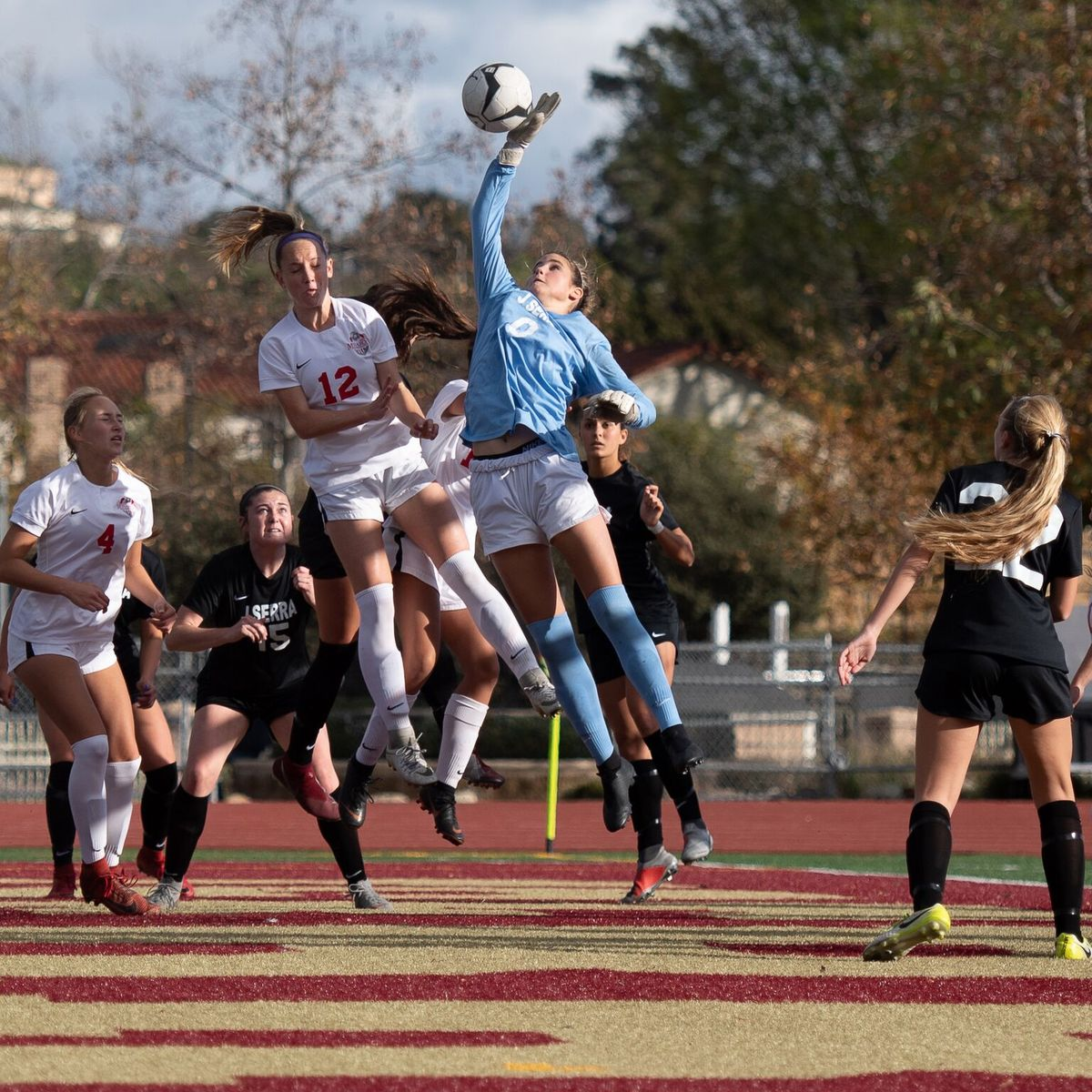 Undefeated JSerra Beats Mater Dei in 9th Shutout of Season