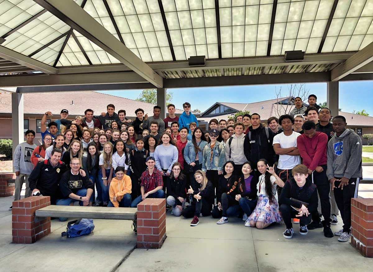 ASL Students Visit California School for the Deaf in Riverside