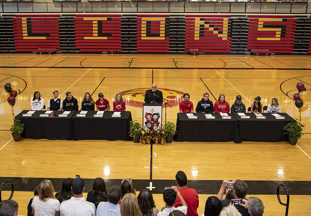 34 Student Athletes from the Class of 2019 Signed to Play Sports in College