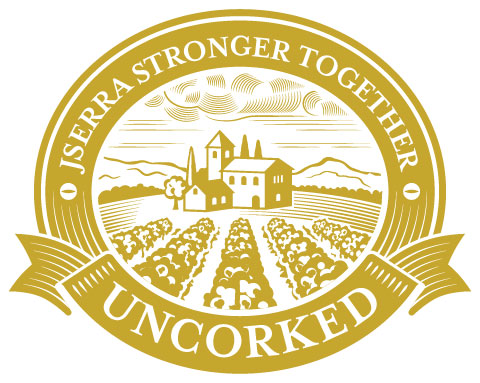 Logo for Uncorked event